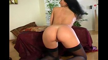 Boss fuck his office lady secretary with stockings heel
